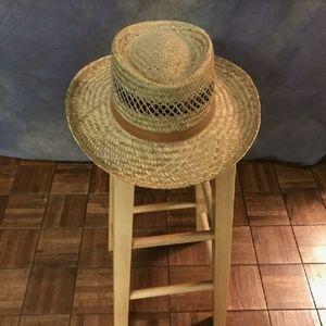 Summer Club straw hat LIKE NEW